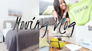 MOVING VLOG! NEW FLAT-APPARTMENT TOUR, UNPACKING & HOMESENSE HOMEWARE HAUL | Style With Substance