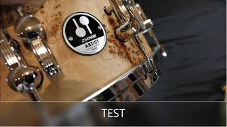 Sonor AS 12 1406 CM Artist Snare - Cottonwood / Test