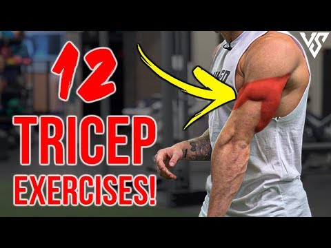 12 Best Tricep Exercises For Bigger Arms