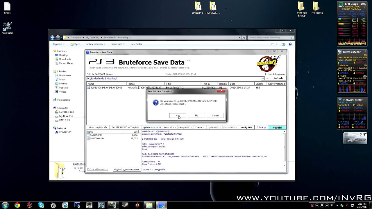 Program - PS3 BRUTEFORCE 4 7 4 SAVE DATA | Radical Exploits