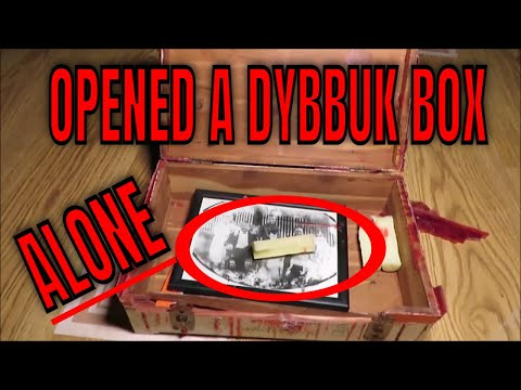 'OPENING OMAR'S DYBBUK BOX' (30 Min ALONE Challenge)  ABANDONED DR MANSION WATCH THE HORROR UNFOLD