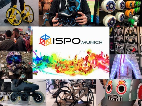 ISPO Munich 2018 - the biggest sport exhibition at Munich / 28-31 of Jan