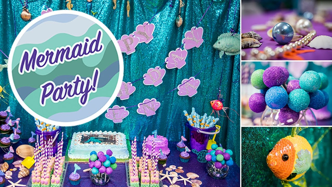 How To Make Mermaid Party Decorations