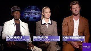 'Avengers: Endgame' cast talks about surviving the Snapture
