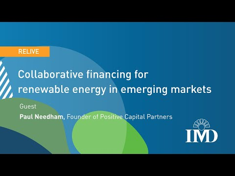 Collaborative financing for renewable energy in emerging markets