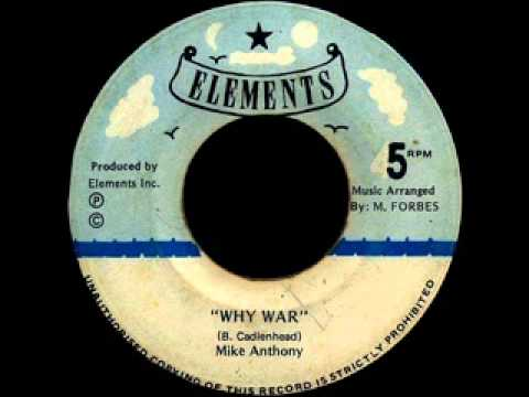 Mike Anthony - Why War