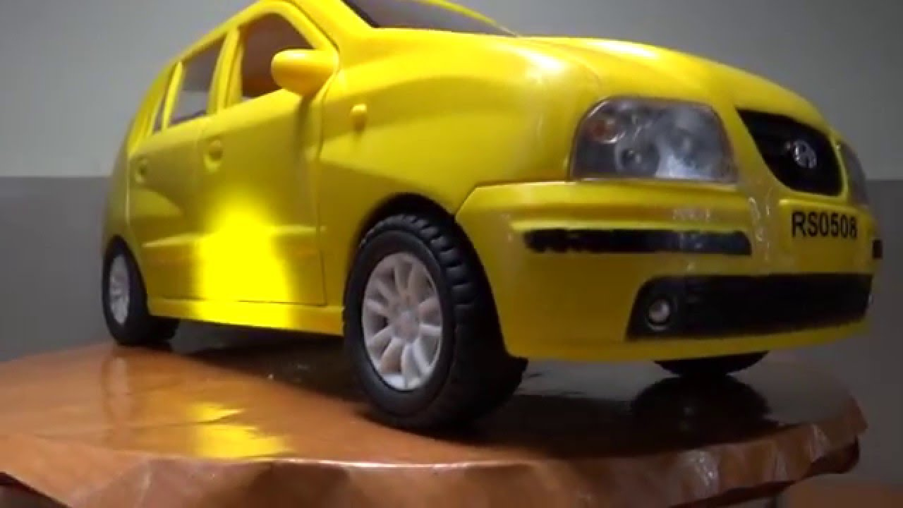 Hundai Yellow Color Car