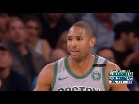 Al Horford Highlights vs New York Knicks (13 pts, 10 reb, 3 blk)