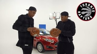 Repeat youtube video Best DeMar DeRozan and Kyle Lowry Commercials and Funny Moments