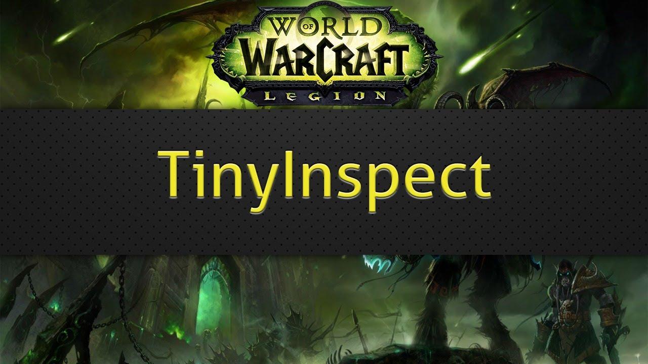TinyInspect (WoW addon)