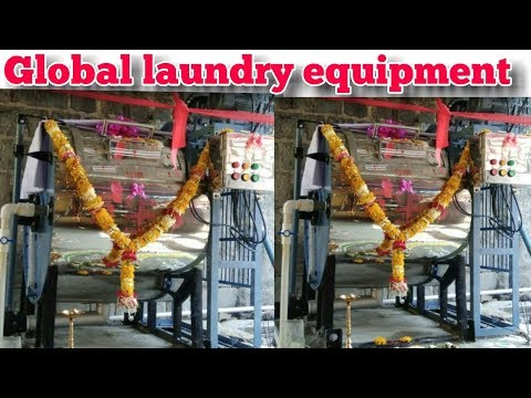 GLOBAL LAUNDRY EQUIPMENT. .About My Commitment.