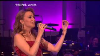 Kylie Minogue -  I Should Be So Lucky (Live at Hyde Park Proms in the Park) // www.kylieonline.org