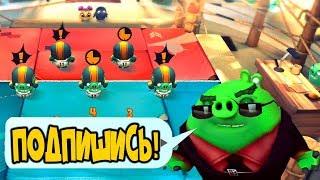 Angry birds evolution прохождение игры злые птички,мультик игра видео для детей