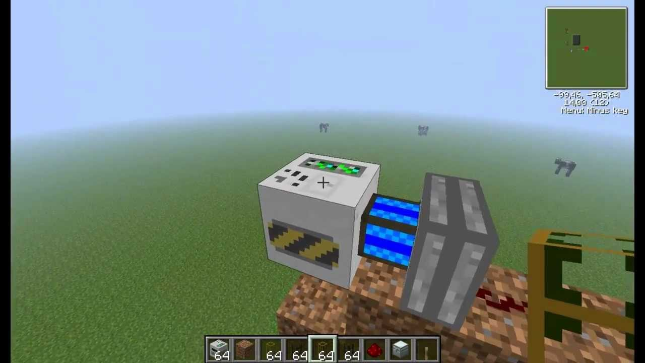 how to use the mining well in buildcraft