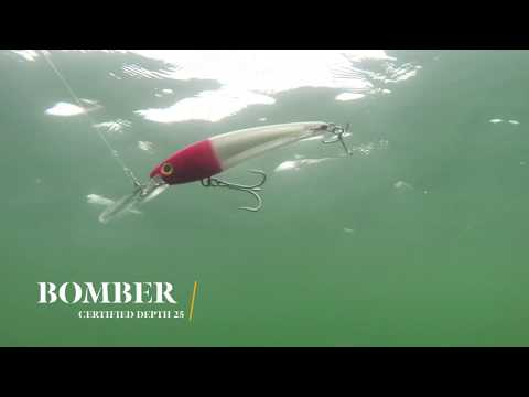 How Lures Swim: Bomber Certified Depth 25