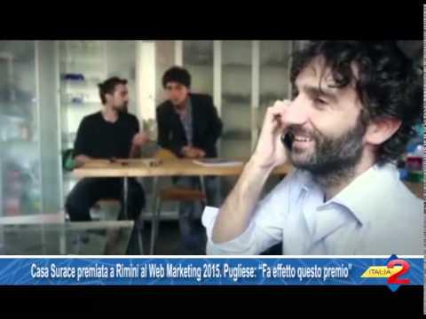 Casa Surace premiata a Rimini al Web Marketing 2015 Pugliese Fa effetto questo premio  YouTube