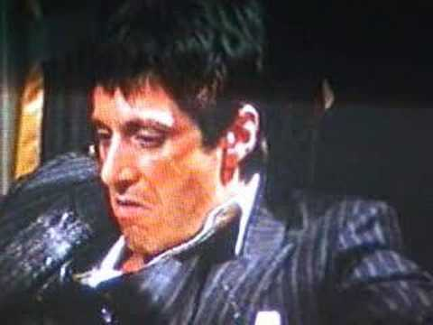 Al pacino scarface youtube for Occhiali al pacino scarface