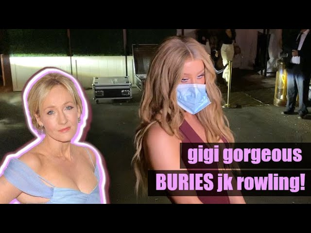 Gigi Gorgeous Pulls No Punches With Harry Potter Author JK Rowling!  [MUST WATCH!]