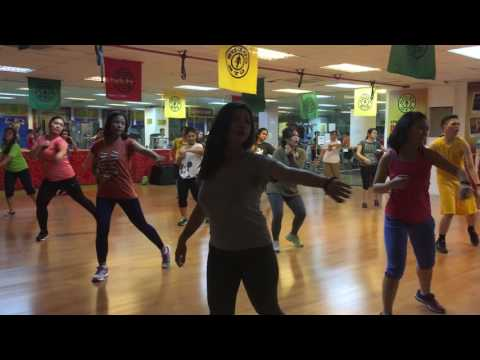 Zumba® with Marites Pieper - Bailando (Flamenco-Reggaaeton) @ Golds Gym BGC Philippines