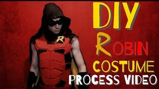 How to Make A Robin Costume - Process Video