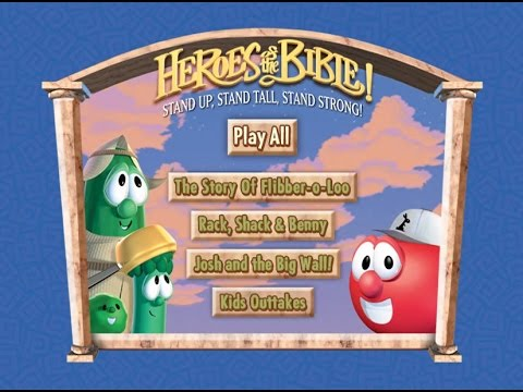 VeggieTales- Heroes of the Bible Vol.2 Menu and Outtakes