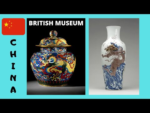 BRITISH MUSEUM 🏛️: China Exhibit, Looted Priceless Treasures From 5,000BC!!