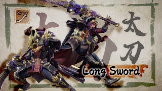 Monster Hunter Rise - Long Sword