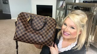 Speedy Bandouliere 30 Damier Ebene Review