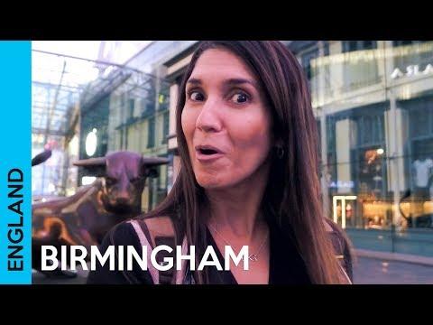 Birmingham City Centre - UK Travel Vlog