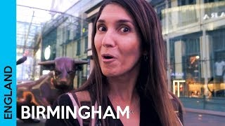 Birmingham City Centre - UK Travel Vlog 2018