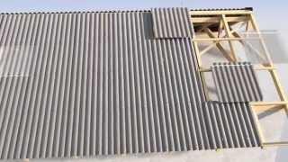 Instrukcja montażu płyty falistej EuroFala B59 - konstrukcja drewniana