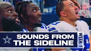 Sounds From The Sideline: Week 1 Giants vs Cowboys | Dallas Cowboys 2019