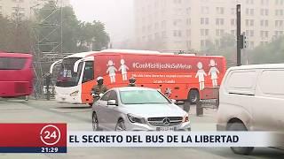 El secreto del Bus de la Libertad