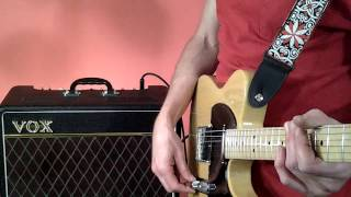 Simple Fender Telecaster tone tip