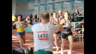 Лёгкая атлетика. Чемпионат Украины (мастерс) 7.03.15 200м женщины
