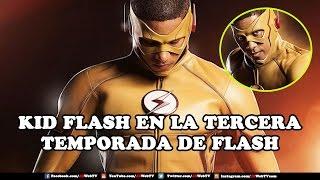 Kid Flash En La Tercera Temporada de Flash