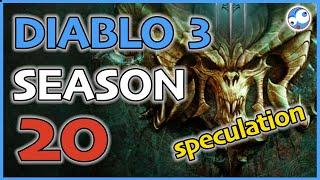 Diablo 3 Season 20 Speculation - Sets & Themes