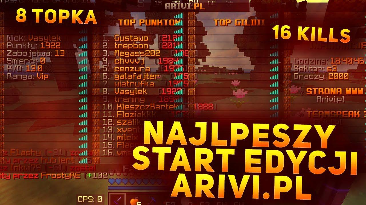 NAJLEPSZY START EDYCJI ARIVI.PL | 16 KILL | 8 TOPKA | GILDIA ABYS |