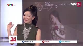 Khánh mời trường quay - ca sỹ Hồng Nhung  - Tin Tức VTV24