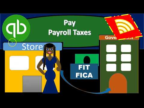 QuickBooks Online 2019-Pay Payroll Taxes