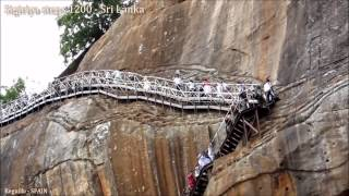 Sigiriya steps 1200, Lion Rock  Sri Lanka HD