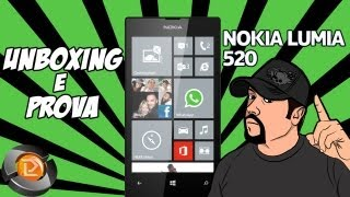 Unboxing & prova Nokia Lumia 520 - DarkLuxifer