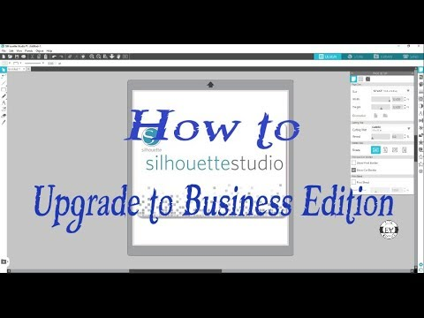 How To Upgrade Silhouette Studio To Business Edition |TUTORIAL thumbnail
