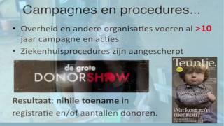 Waarom Actieve DonorRegistratie