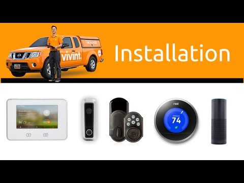 Vivint Smart Home and Security: Installation Process