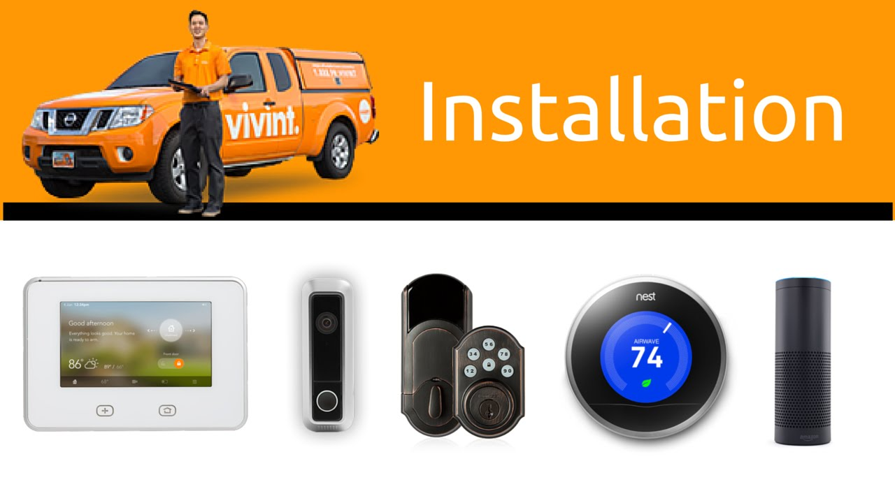 vivint smart home and security installation process youtube. Black Bedroom Furniture Sets. Home Design Ideas