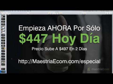 Maestria eCom - Aprende A Ganar Por Internet A Traves Del E-Commerce