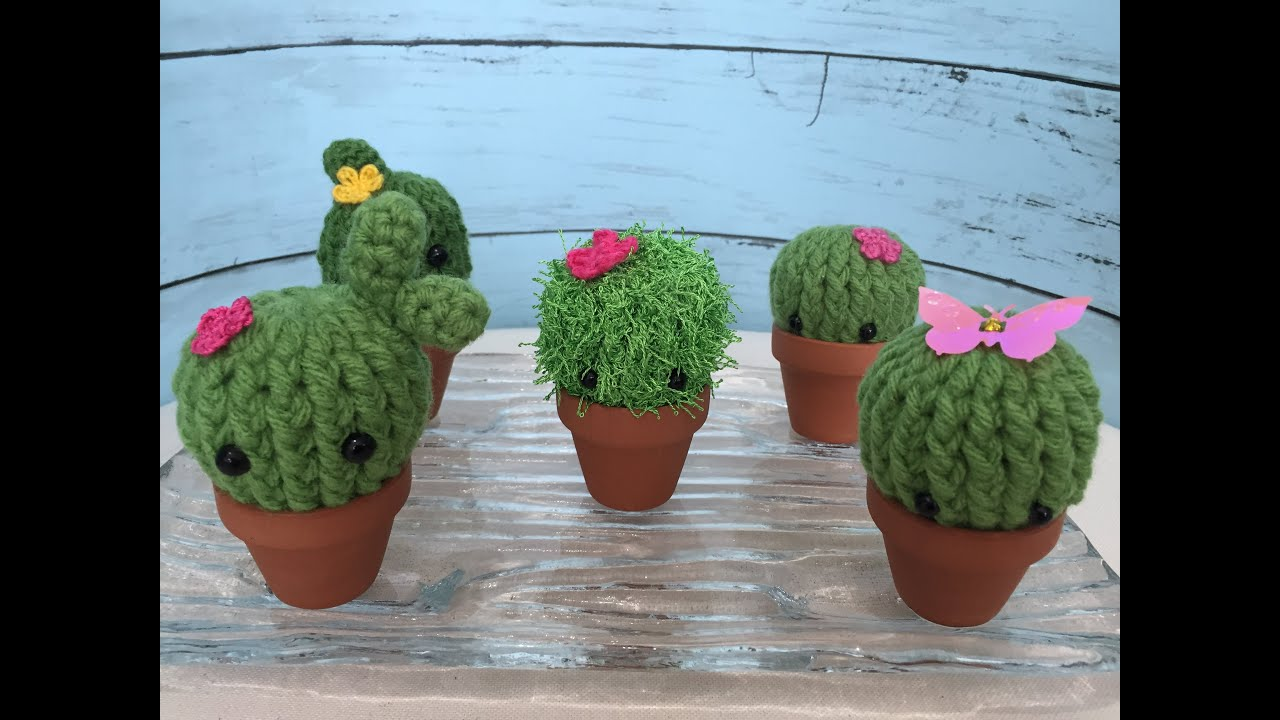 Make A Crochet Garden | Amigurumi patrones gratis, Cactus de ... | 720x1280
