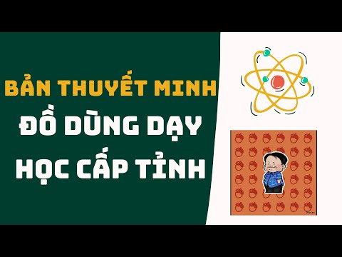 Ban thuyet minh Do dung day hoc Mon Toan