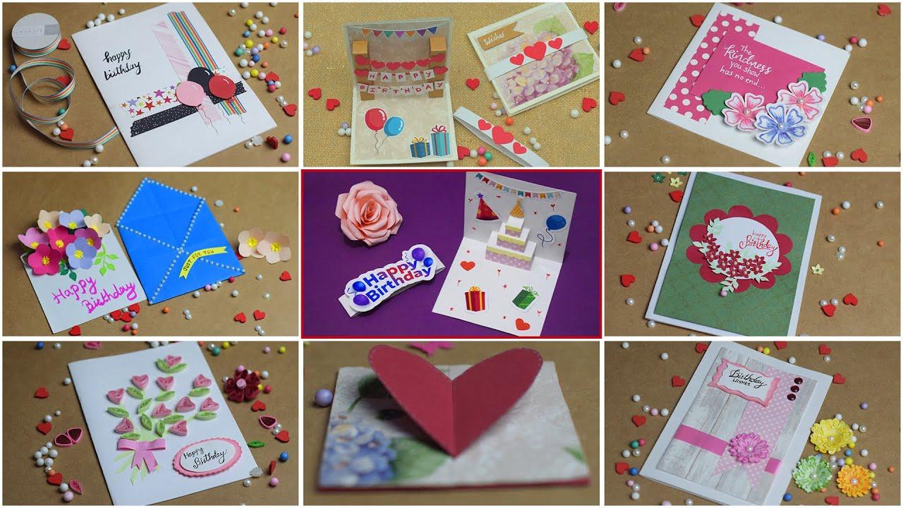 10 easy Birthday Gift Ideas | Happy Birthday Cards
